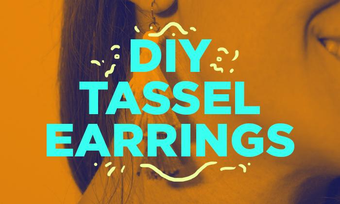 DIY Tassel Earrings Thumbnail