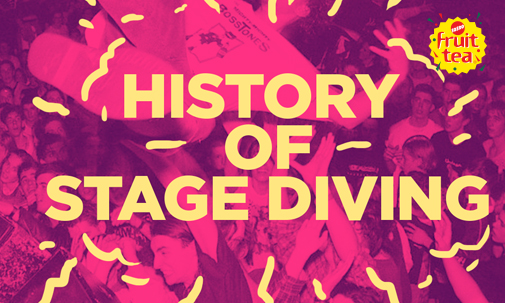 The History of Stage Diving Thumbnail