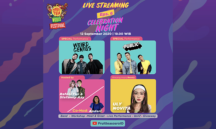 Recap Fruit Tea World Festival Eps. 6 - Celebration Night Thumbnail